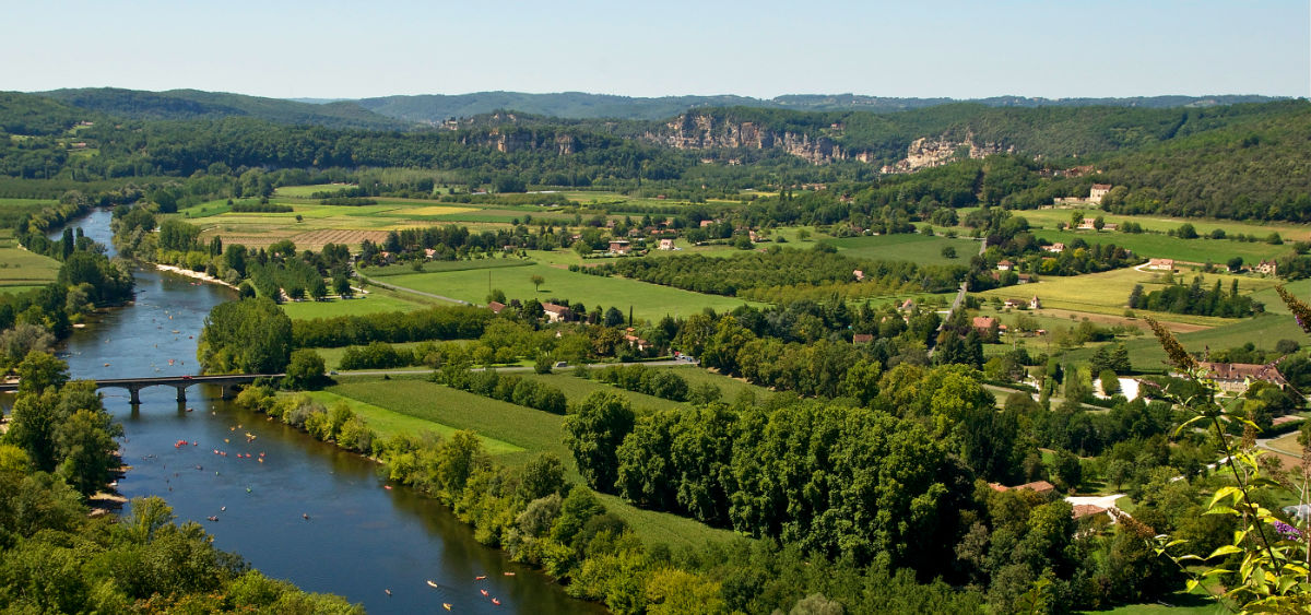 In the Dordogne valley